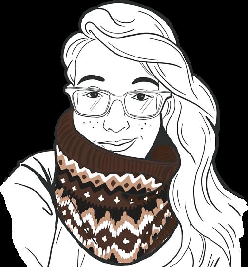 Bernie's cowl knitting pattern by Jamie Lomax