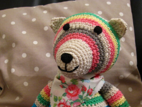 Bruno the Bear - Rico Crochet Kit