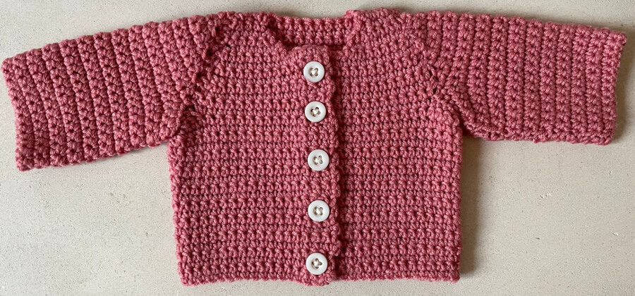 Nancy Bear's cardigan