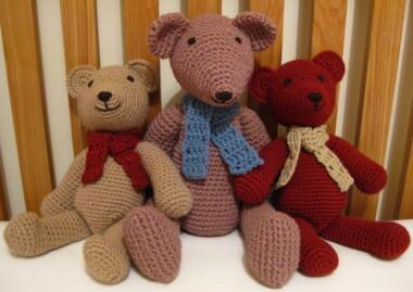 Crochet Teddy Bears by Craft Fix
