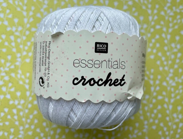 Rico essentials size 10 crochet thread