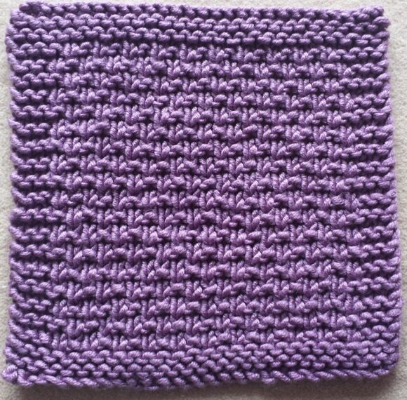 Deramores Studio Chunky square in Heather post washing