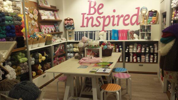 Wool, haberdashery & craft supplies now at Eason