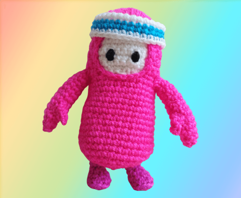 Fall Guys crochet pattern