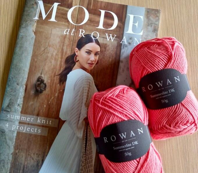 MODE at Rowan Summer Knit pattern booklet & Summerlite DK yarn