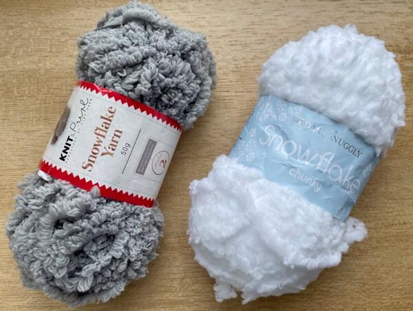 Snowflake or Teddy yarn examples