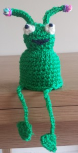 The Big Knit alien hat