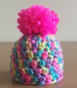 The Big Knit simple crochet hat