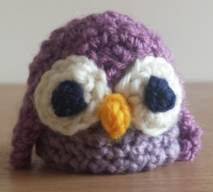 The Big Knit owl hat