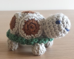 The Big Knit tortoise hat