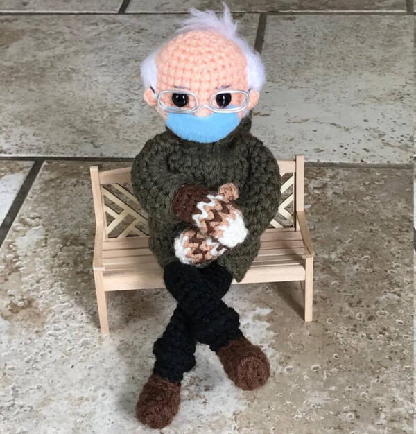 Make mittens & more with these Bernie Sanders inspired knitting & crochet patterns