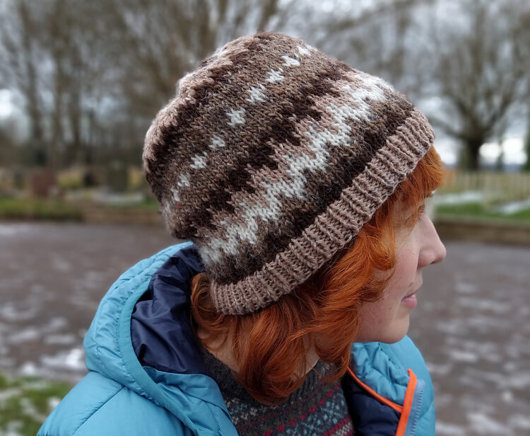 Weekend at Bernie's beanie hat by Rosee Woodland